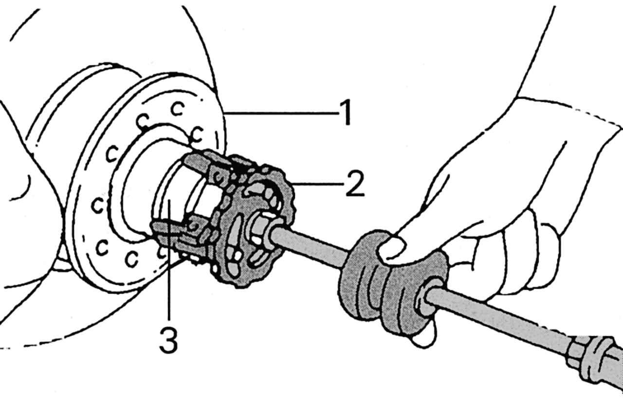 замена подшипника передней ступицы на мерседес w168